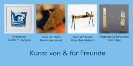 Kunst von & für Freunde - Ausstellung im Atelier Himmelsbach - 25.-26.11.2017
