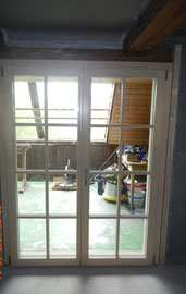 Fenstertüre mit Landhaussprossen