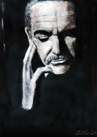 Sean Connery, Acryl, 42x32