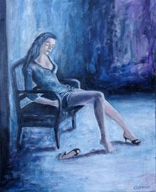 The last dance, Acryl auf Leinwand, 50x40