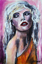 Debbie Harry, Acryl 42x32