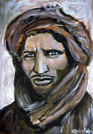 The Tuareg, Acryl, 42x32
