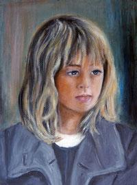 Aina, Oel auf Leinwand, 30x40, Auftrags-Portrait