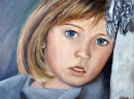 Marta, Oel auf Leinwand, 30x40, Auftrags-Portrait