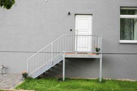 Gutshaus Laschendorf Ferienwohnung 4 Eingangstür