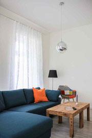 Gutshaus Laschendorf Ferienwohnung 4 Wohnzimmer