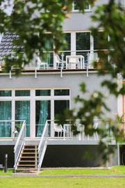 Gutshaus Laschendorf Ferienwohnung 4 Terrasse