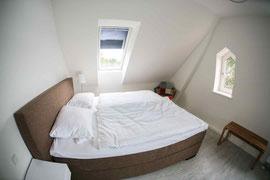Gutshaus Laschendorf Ferienwohnung Schlafzimmer