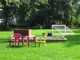 Gutshaus Laschendorf Park Kinder Spielplatz