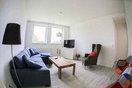 Gutshaus Laschendorf Ferienwohnung Wohnzimmer