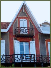 """Villa """"Les Palmiers"""" en """"Ville d'Hiver"""" à Arcachon"""