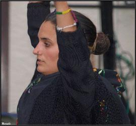 Danseuse Aragonaise, Fête au Fromage, Hera deu Hromatge, à Laruns en Vallée d'Ossau (64)