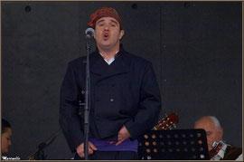 Chanteur Aragonais, Fête au Fromage, Hera deu Hromatge, à Laruns en Vallée d'Ossau (64)