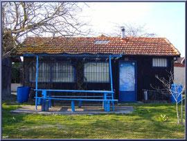 """Arcachon, """"Ville d'Automne"""" et son petit port de l'Aiguillon, cabane ostréicole"""