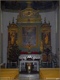 Décoration autel Noël 2012