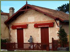 """La villa """"Santuza"""" au Moulleau à Arcachon"""