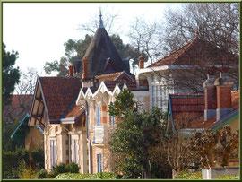 """Villas anciennes en """"Ville d'Hiver"""" à Arcachon"""
