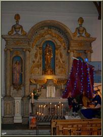 Autel de la Vierge et la crèche  2011