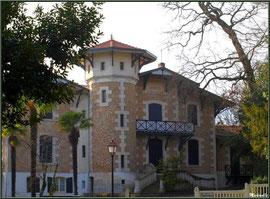 """La villa """"Brémontier"""" en """"Ville d'Hiver"""" à Arcachon"""