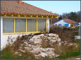 Cabanes ostréicoles au port d'Arès (Bassin d'Arcachon)