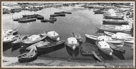 Port de Larros, pinasses et chalands
