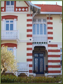 """Villa """"Bayard"""" en """"Ville d'Hiver"""" à Arcachon"""