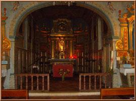 Autel central de la Chapelle des Marins, Basilique Notre Dame d'Arcachon, Ville de Printemps