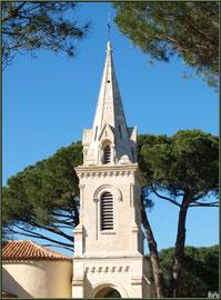 Eglise Saint-Eloi, le clocher, Andernos-les-Bains (Bassin d'Arcachon)