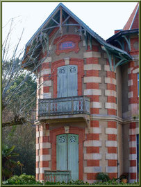"""Villa """"Régine"""" en """"Ville d'Hiver"""" à Arcachon"""