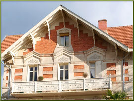 """La villa """"Carmen"""" en """"Ville d'Hiver"""" à Arcachon"""