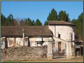 Portail entrée cimetière et église Saint Pierre de Mons à Belin-Beliet (Gironde)