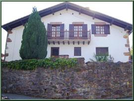 Maison au village de Zugarramurdi (Pays Basque espagnol)