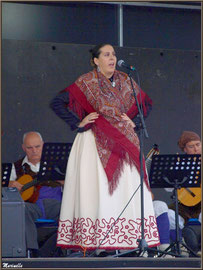Chanteuse Aragonaise, Fête au Fromage, Hera deu Hromatge, à Laruns en Vallée d'Ossau (64)