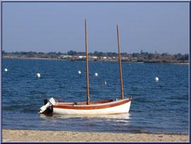 """Arcachon, """"Ville d'Automne"""", son petit port de l'Aiguillon et bateau"""