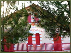 """Villa """"Coralyne"""" en """"Ville d'Hiver"""" à Arcachon"""
