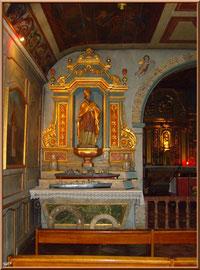 Autel central de la Chapelle des Marins (côté gauche) Basilique Notre Dame d'Arcachon, Ville de Printemps