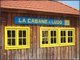 """""""La Cabane à Ludo"""" au Port du Canal à Gujan-Mestras (Bassin d'Arcachon)"""