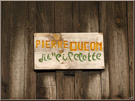La cabane à Pipelette (le surnom d'un ostréiculteur)
