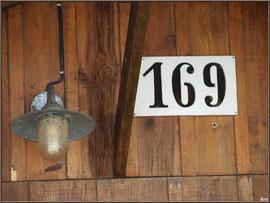 Cabane 169, détail