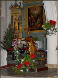 Décoration préchoir Noël 2012