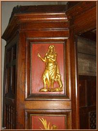 Détail du confessionnal de la Chapelle des Marins, Basilique Notre Dame d'Arcachon, Ville de Printemps