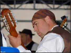Chanteuse Aragonaise , Fête au Fromage, Hera deu Hromatge, à Laruns en Vallée d'Ossau (64)