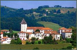 Le village de Sare (Pays Basque français)