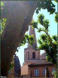 Clocher de la Collégiale Saint Martin à Saint Rémy de Provence, Alpilles (13)