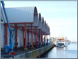 """Arcachon, """"Ville d'Automne"""", la criée sur le port de pêche"""