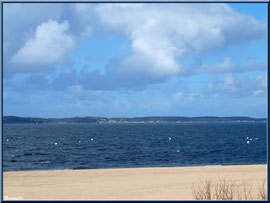 La plage Péreire et le Bassin à Arcachon, Bassin d'Arcachon (33)