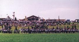 Musik-Kapellen des Bezirkmusikfestes
