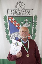 Sepp Scheidl Gaumeister Auflageschützen LG Senioren D