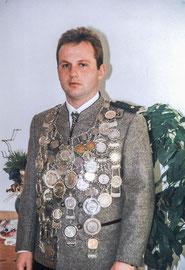 Gauschützenkönig 2005 Werner Grundei