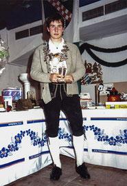 1991 wird Markus Stumbaum von den Tell-Schützen Gau-Jugendkönig